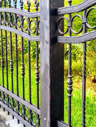 metal fence installation burlington nc