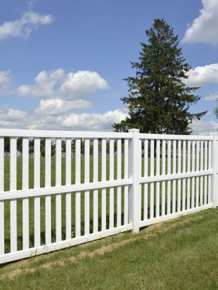 vinyl fence installation burlington nc