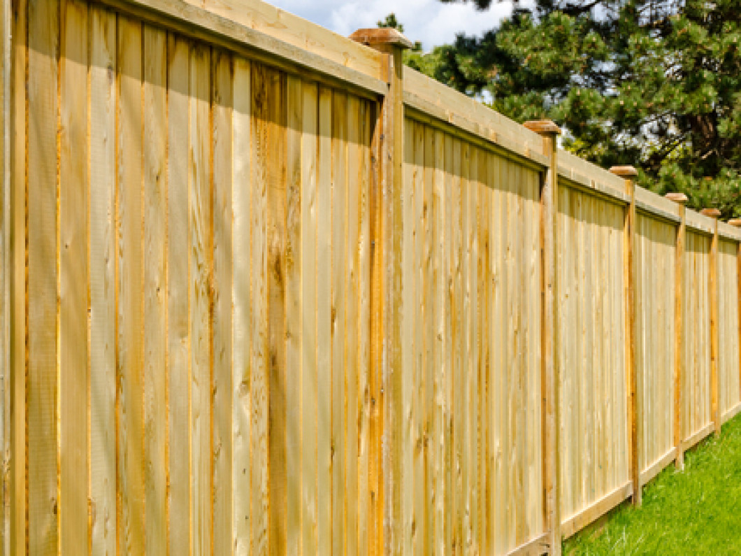 wood fence installation burlington nc